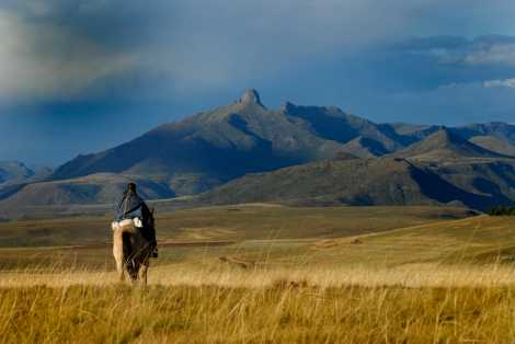 Filming The Forgotten Kingdom in Lesotho | © Meri Hyöky Photography