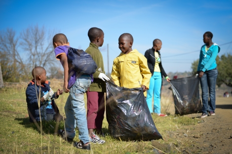 Inspiring a new generation of green activists in Lesotho