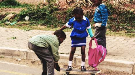 Skate or die - Culturing a new lifestyle for Lesotho